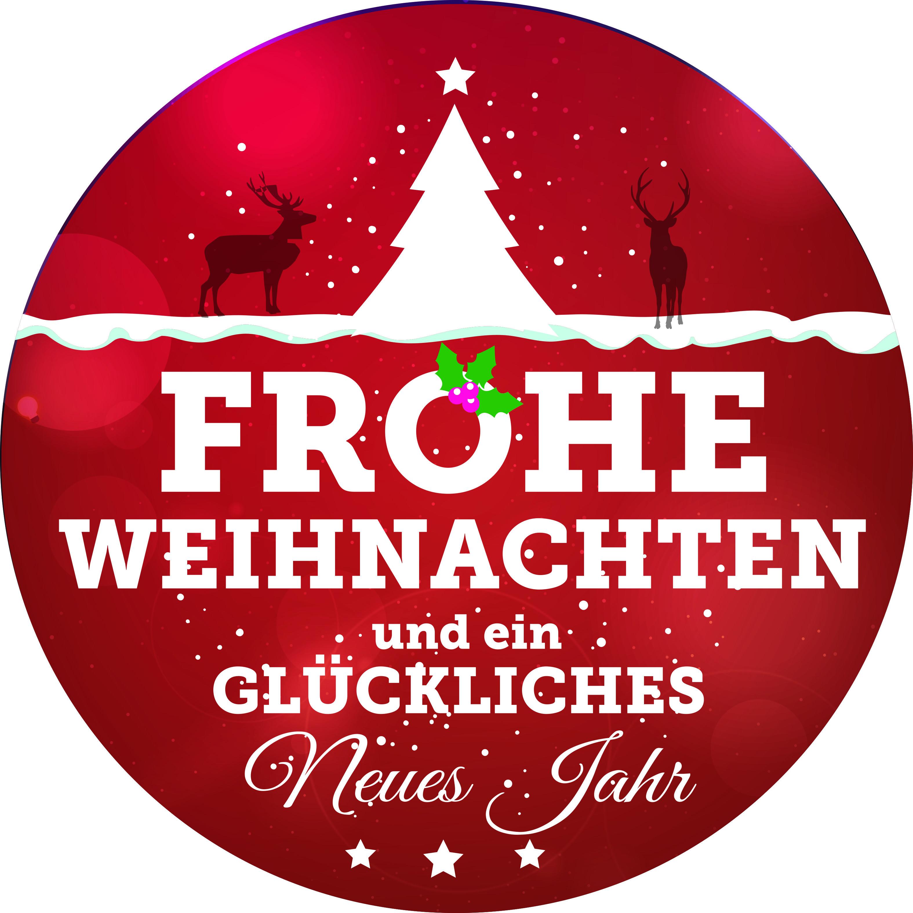 Frohe Weihnachten Etiketten.Weihnachtsaufkleber Etiketten Aufkleber Sticker Weihnachten Glän