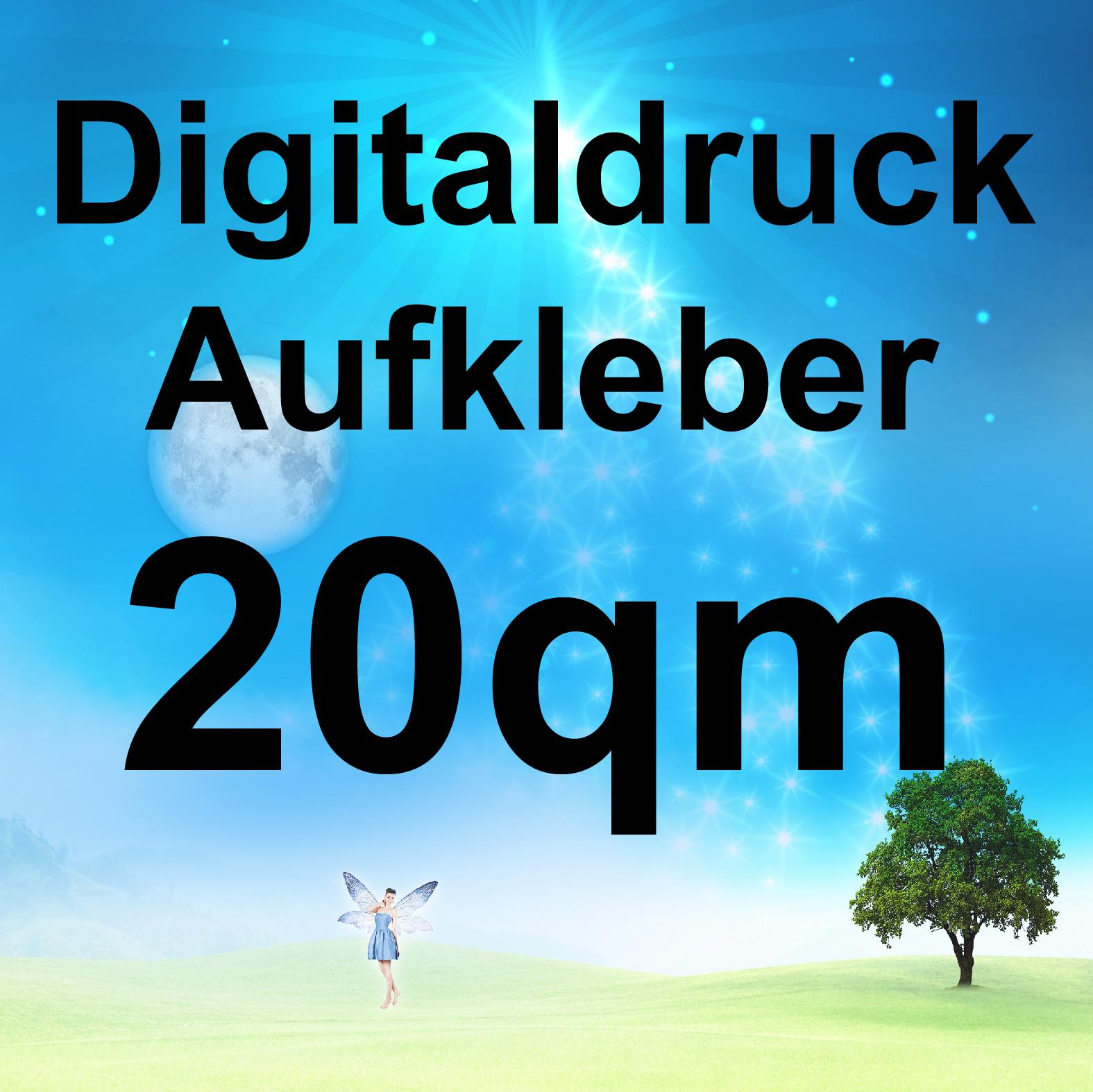 Digitaldruck Aufkleber 20qm Wunschdruck Bedrucken Druck