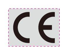 1000 Stück CE Zeichen Aufkleber Metalllfolie selbstklebend Auswahl 15-60mm CESI