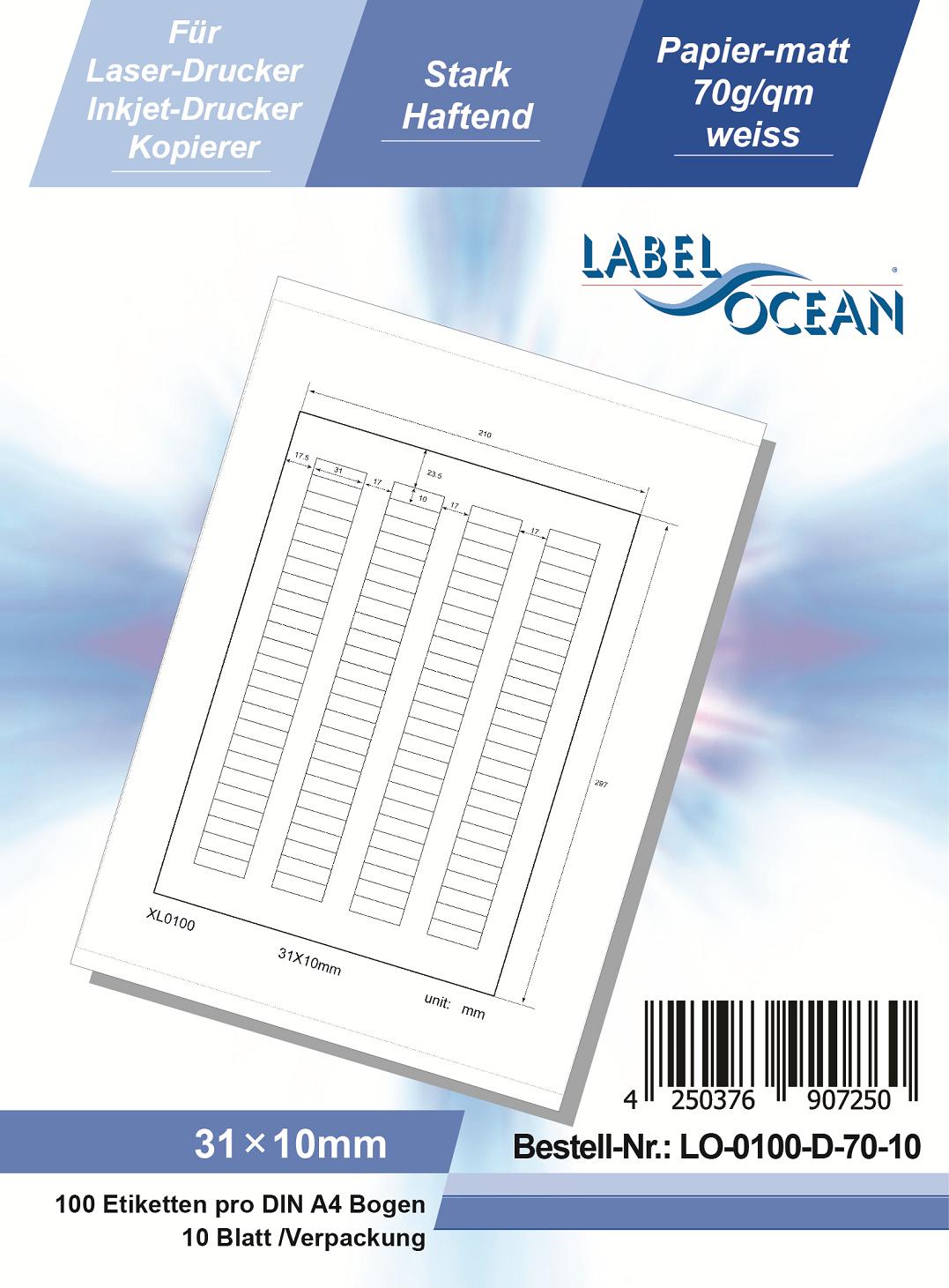 EtikettenWorld BV Fotopapier 10x15 cm 230g//qm High Glossy und wasserfest