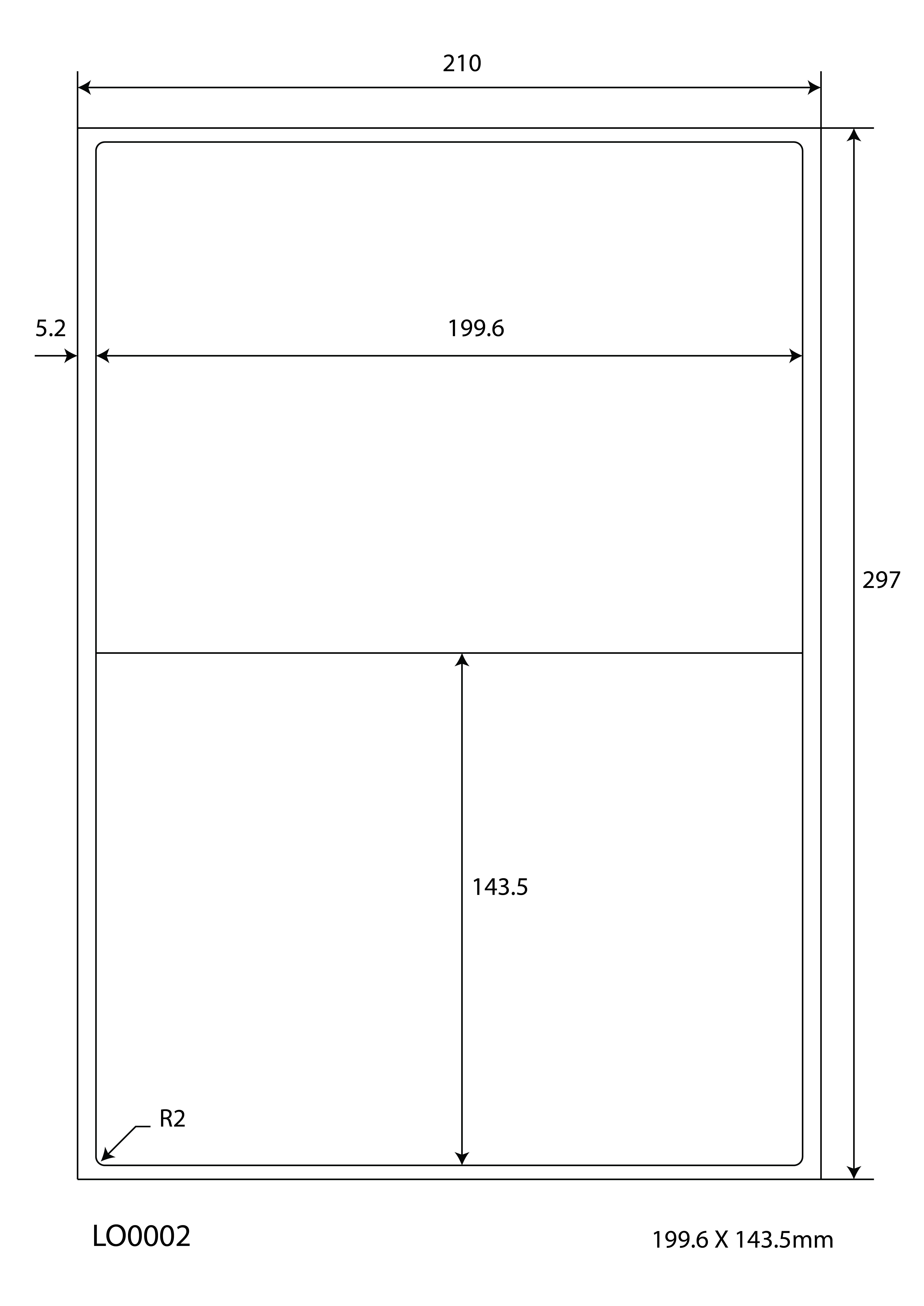 100 Blatt Klebeetiketten DIN A4 weiß 70x20mm Laser Inkjet Kopierer