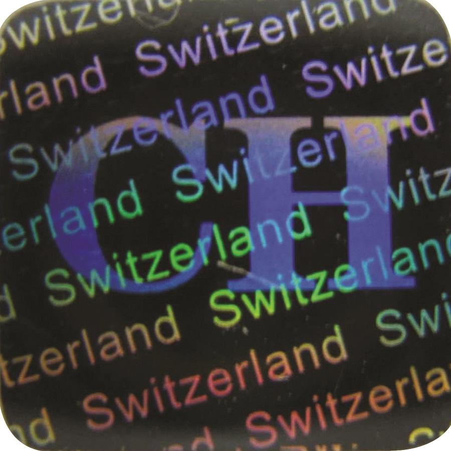 Hologramm-Aufkleber Siegel C, 10x10mm, Garantiesiegel, Sicherheitsetikett