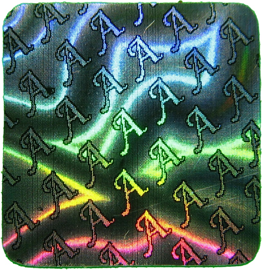 Hologramm-Aufkleber Siegel A, 10x10mm, Garantiesiegel, Sicherheitsetikett