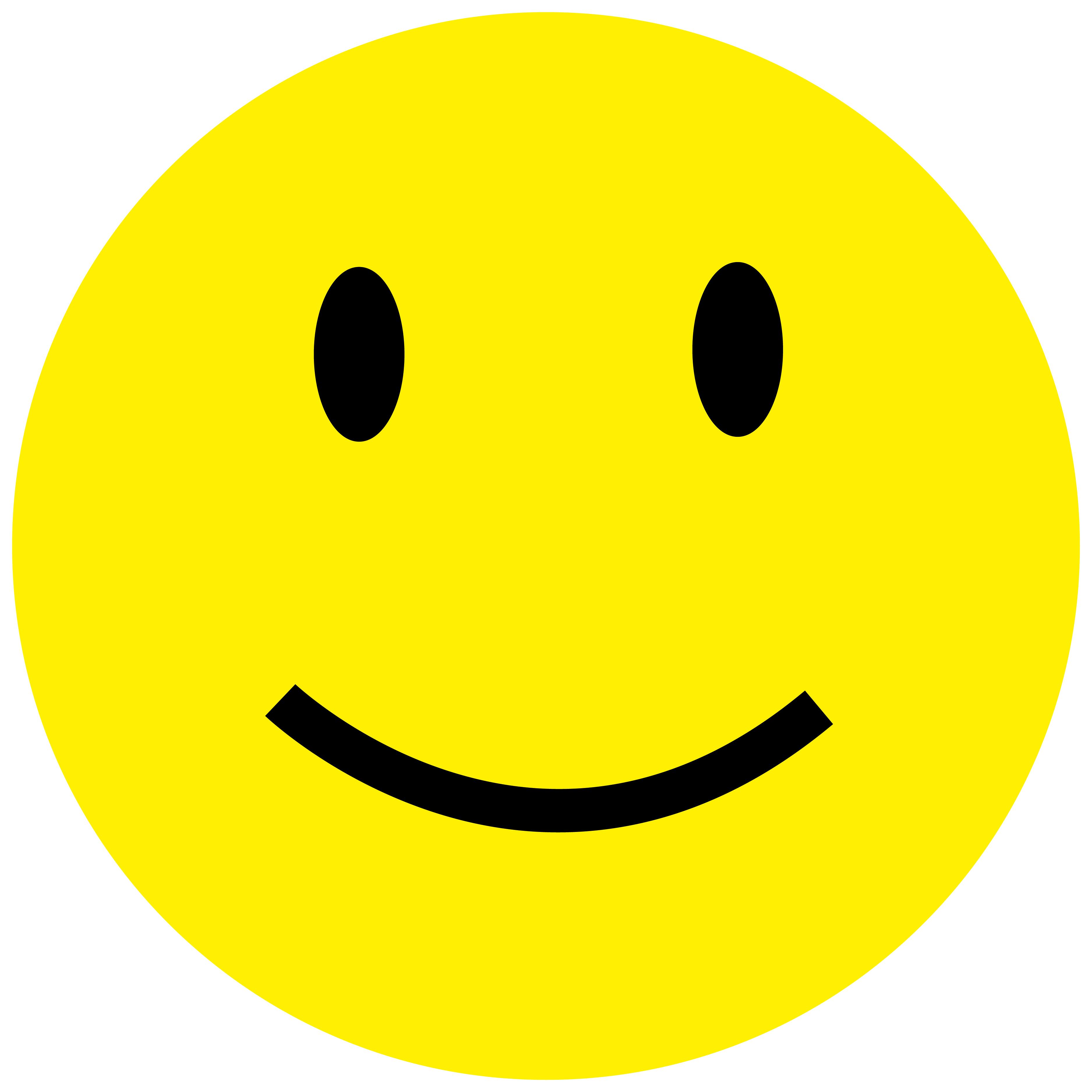 Smiley Lächeln
