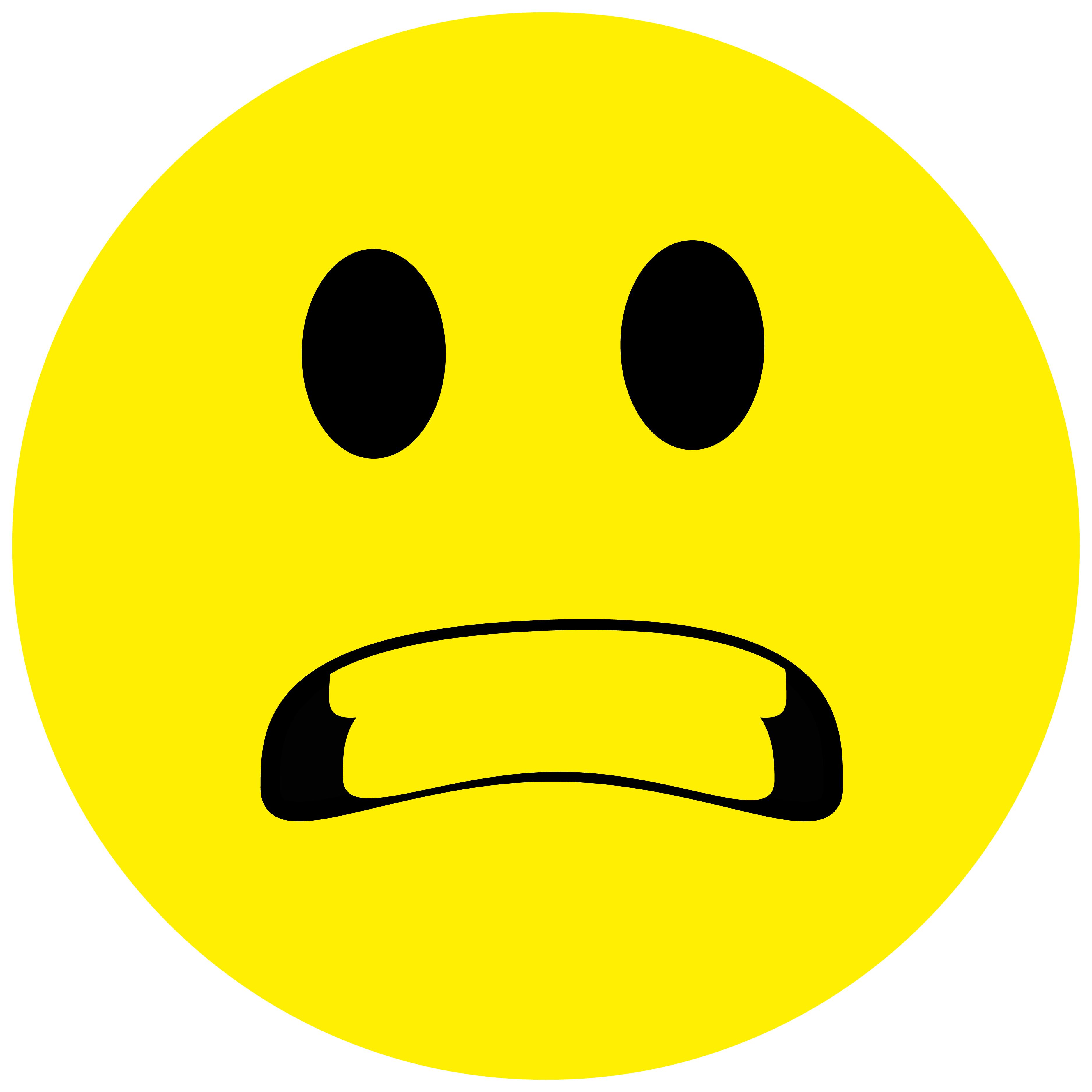 Smiley Aufkleber, Sticker Aggressiv Smilies, Menge/Größefrei wählbar