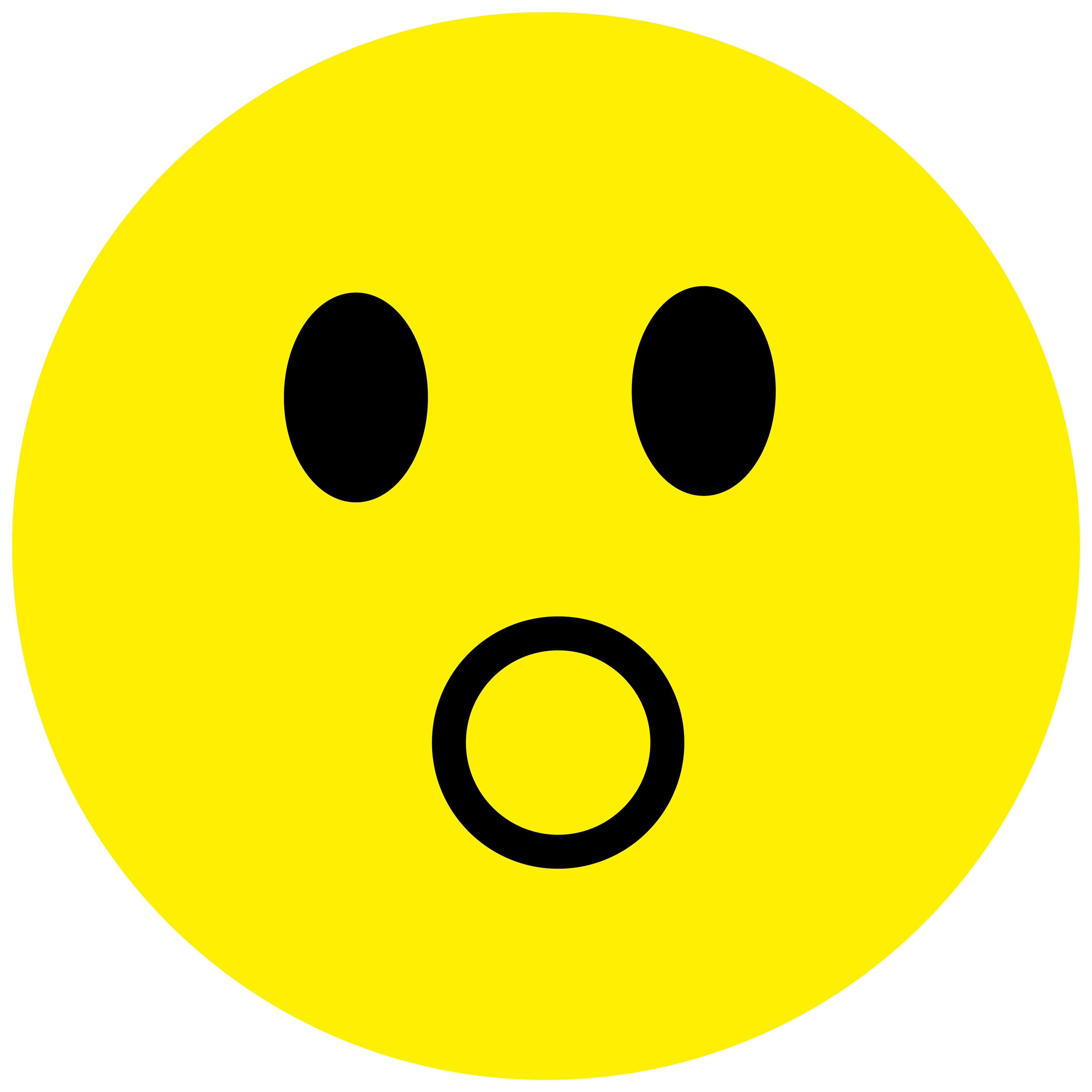 Smiley Aufkleber, Sticker Bewundernd Smilies, Menge/Größefrei wählbar